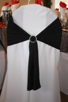 Black with buckle